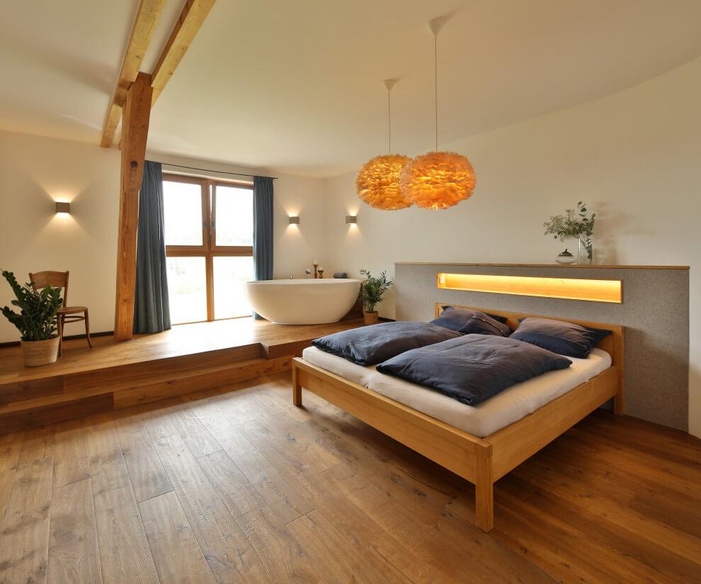 country medium tone wood floor