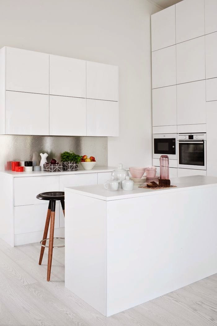 The layout of a small kitchen1