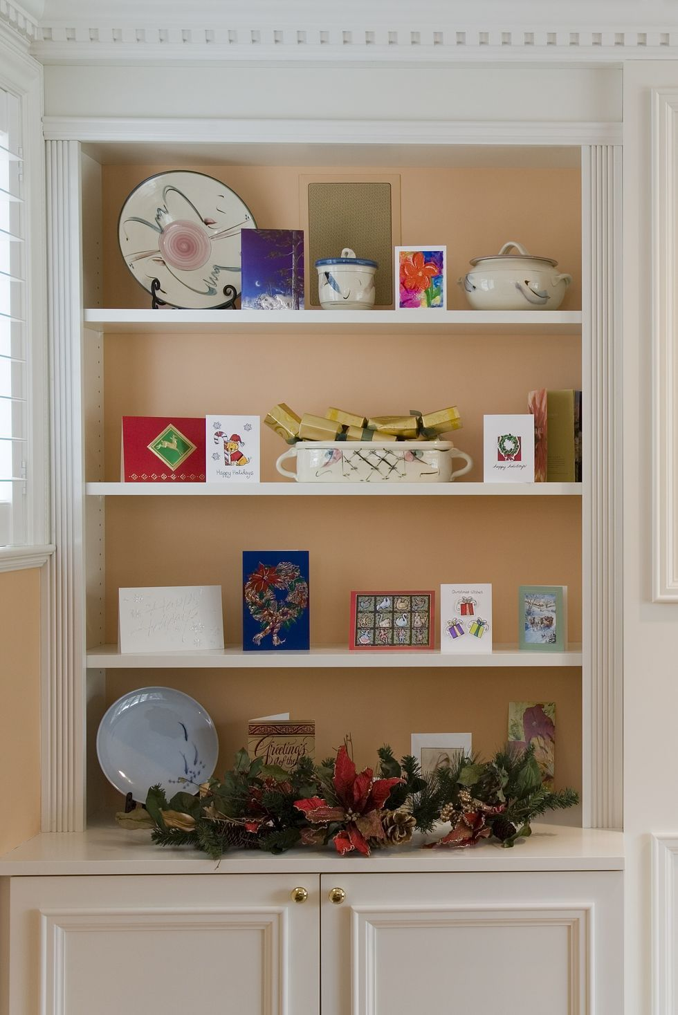 Use your cards as part of your decoration
