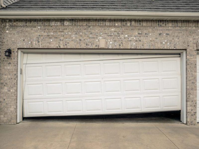 Garage Door Springs Are Failing2