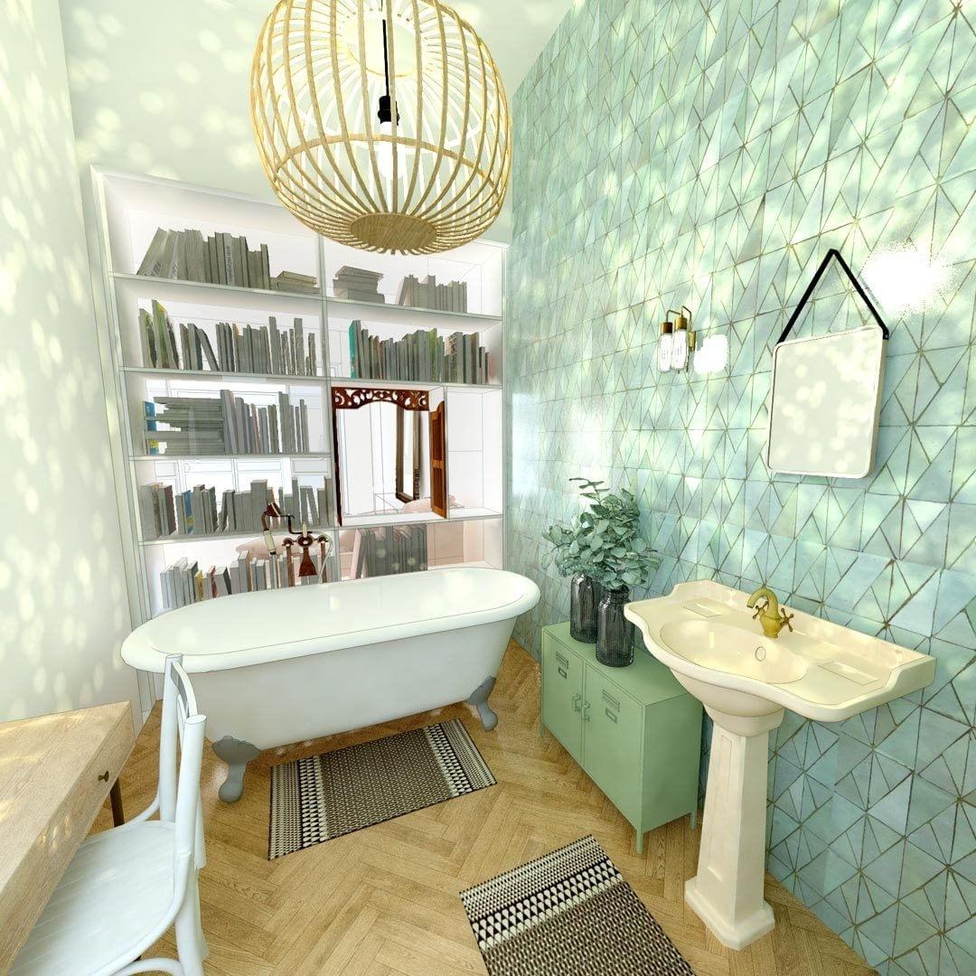 Retro Bathrooms Design (17)
