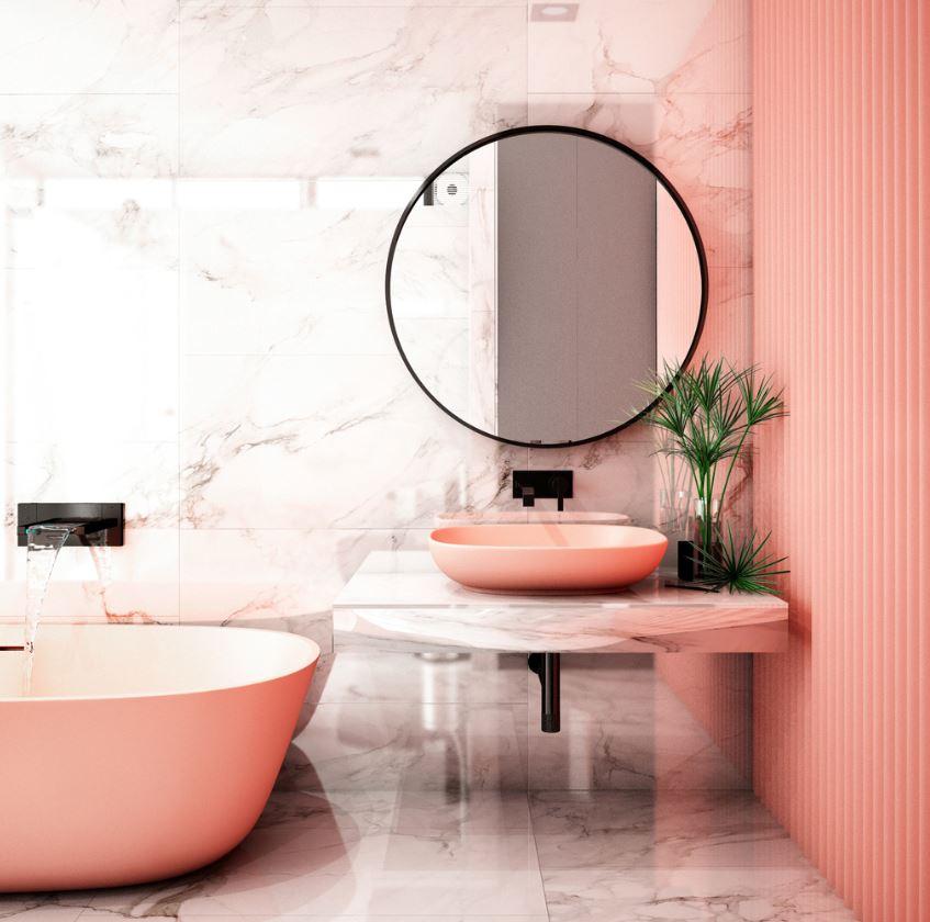 Retro Bathrooms Design (24)