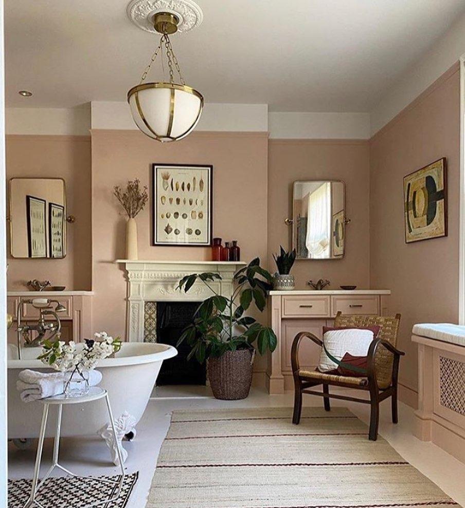 Retro Bathrooms Design (8)