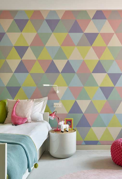 Geometric and colorful