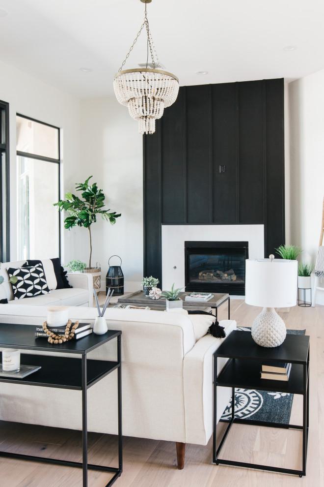 White sofa for small minimalist room.