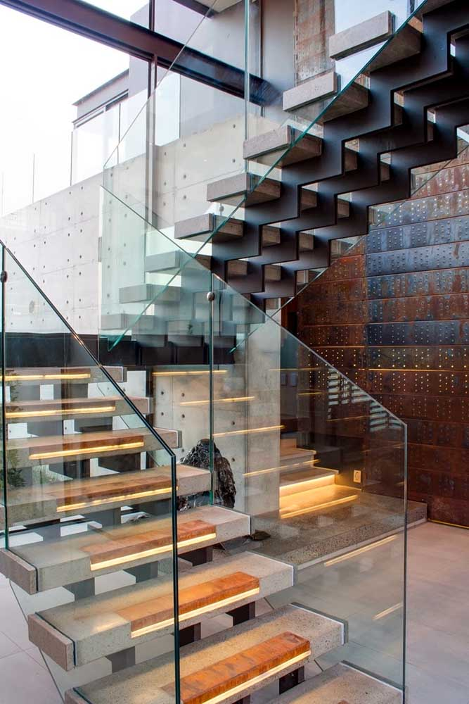 03. What about this incredible corten steel wall?