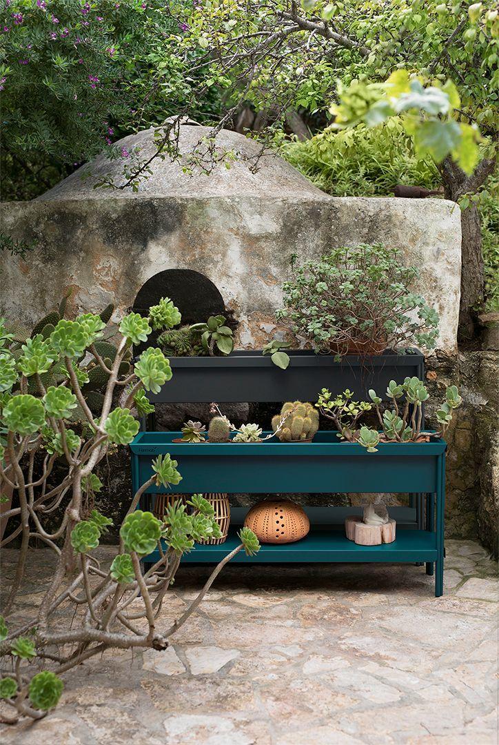 05 - A colorful planter for a vegetable garden