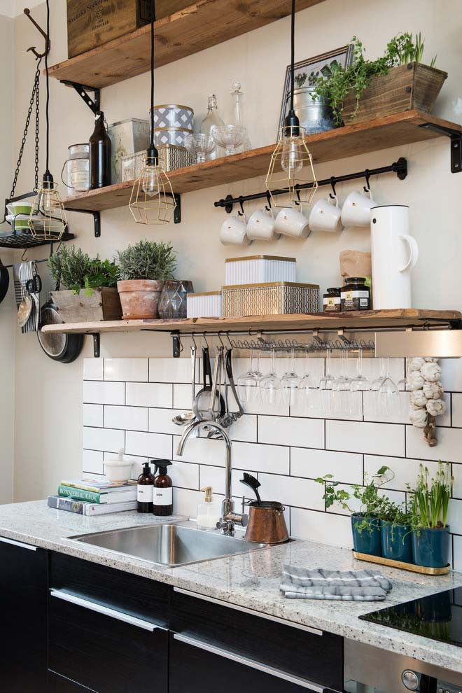 14. Bringing nature into the kitchen