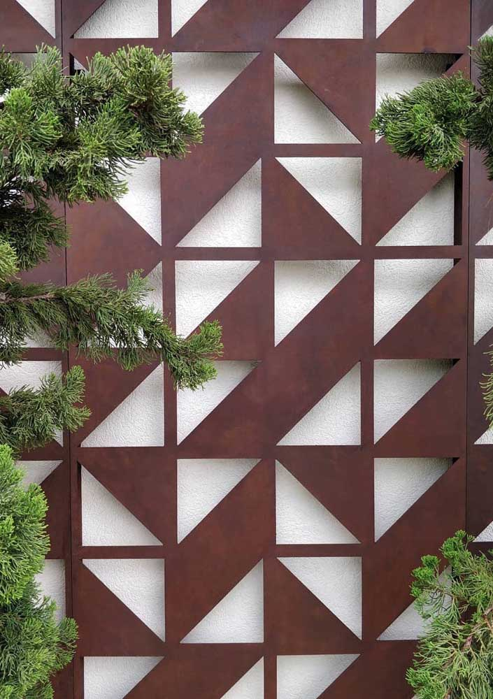 14. You can bet on hollow corten steel when decorating the external environment.