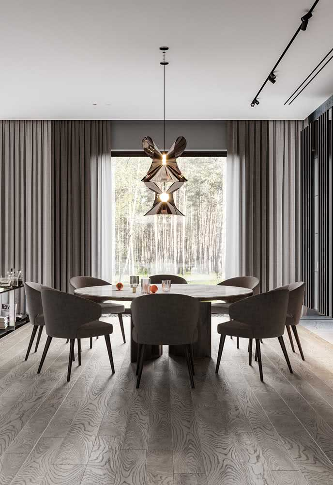 16 - A modern chandelier that oozes nobility and refinement in every detail