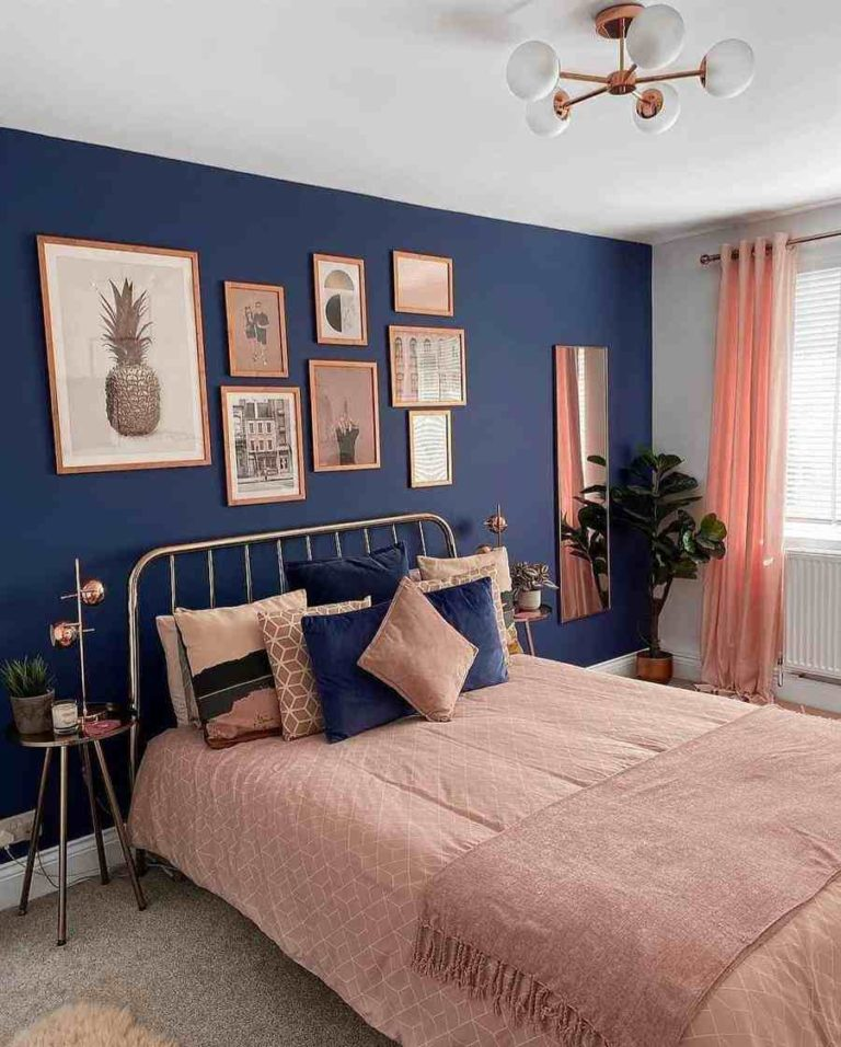 24 - Decorating ideas for a double bedroom with plants