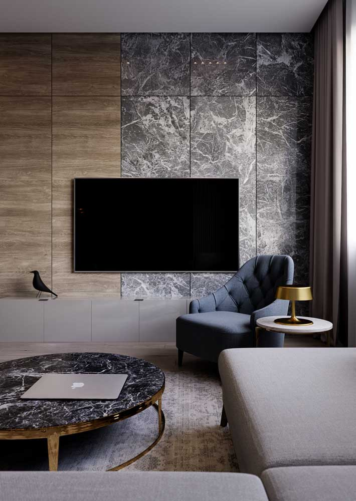 27. When in doubt, bet on a marble and wood panel.