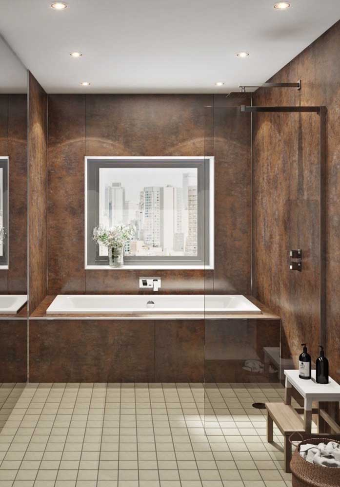 28. Look at that beautiful, elegant and sophisticated bathroom.