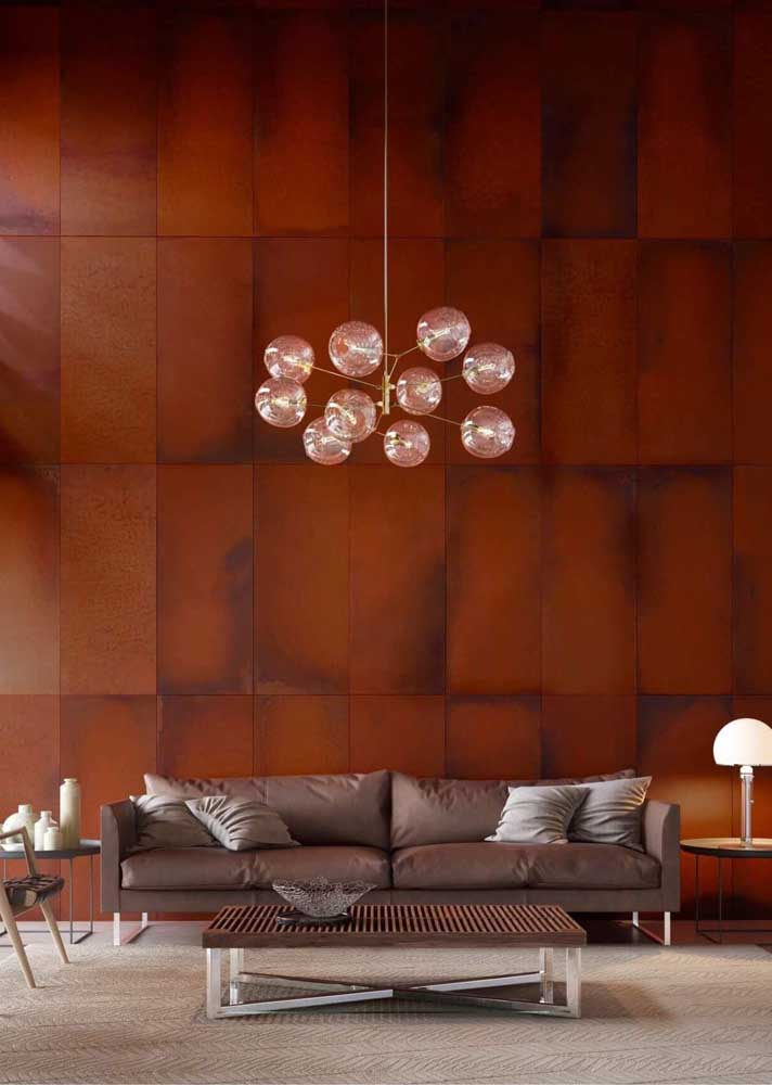 29. Wow! What a sensational wall made with corten steel.