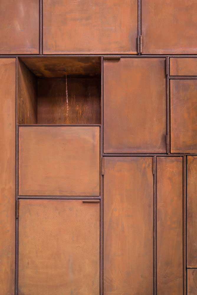 31. You can even make a cabinet out of corten steel.