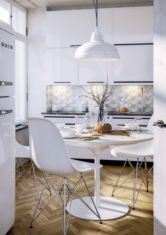 32. White can also be rustic