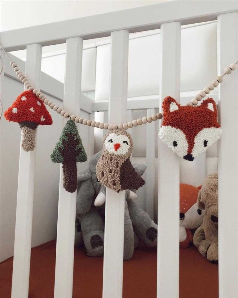 35 - Cute and fun crib ornament