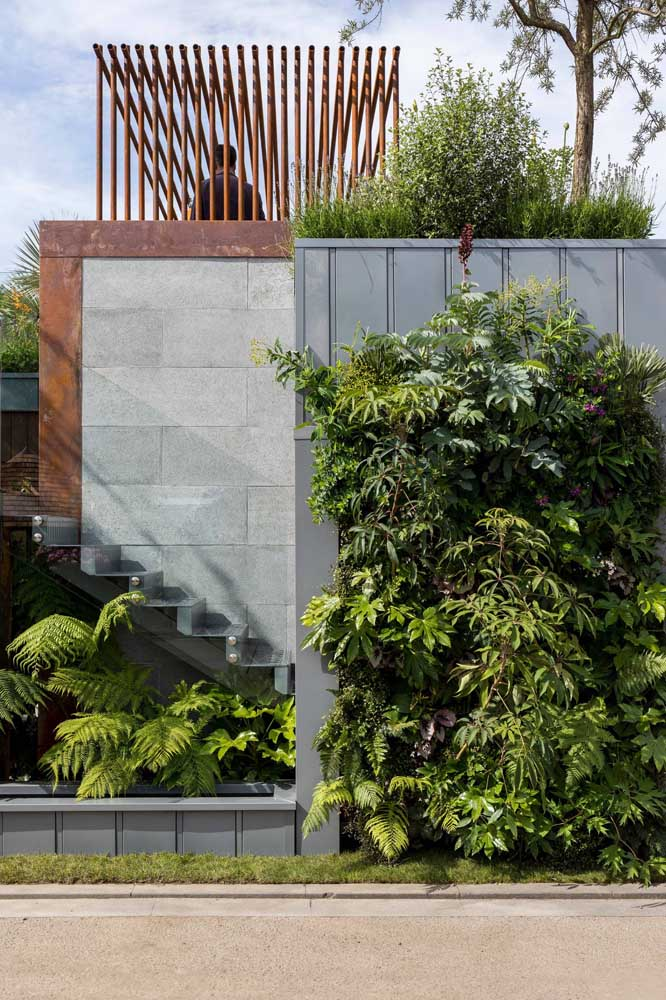 42. Use your creativity to make incredible structures out of corten steel.