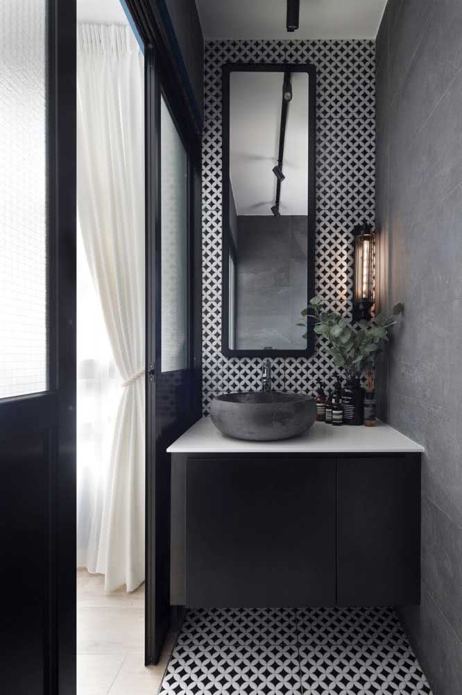 43 - Nothing more functional and beautiful than a sliding door for a small bathroom.
