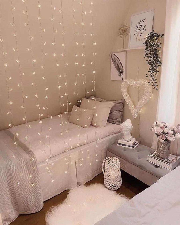 45 - Blinking curtain blinks and a beautiful heart illuminates the room