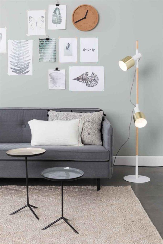 48 - Handmade envious floor lamp