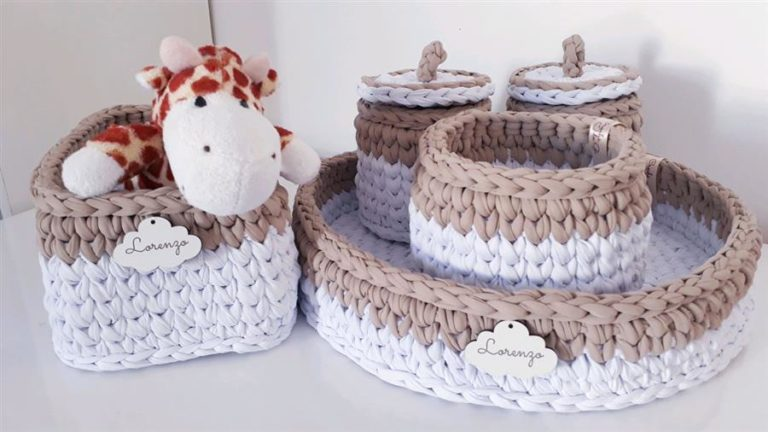 5 - Mesh wire baby room hygiene kit