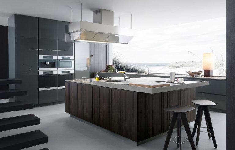 50. Kitchen with center island