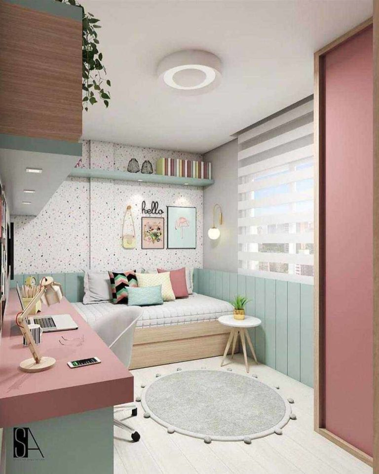 Things to decorate young female bedroom 1