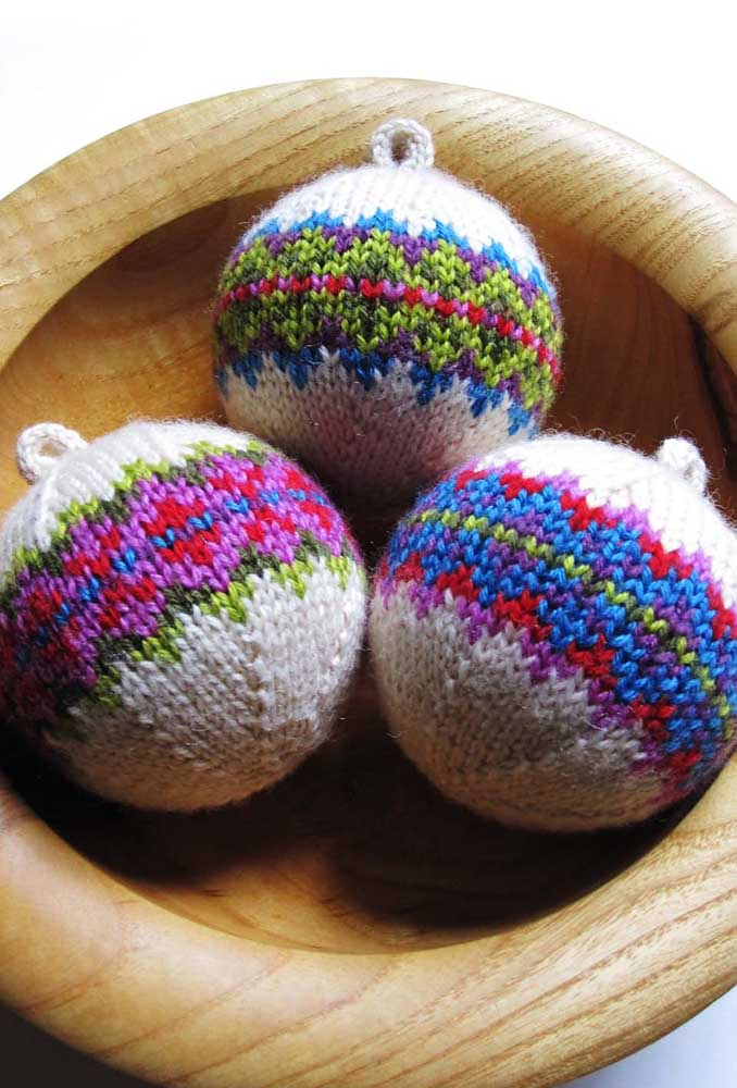 13. Making homemade Christmas baubles can be great therapy.