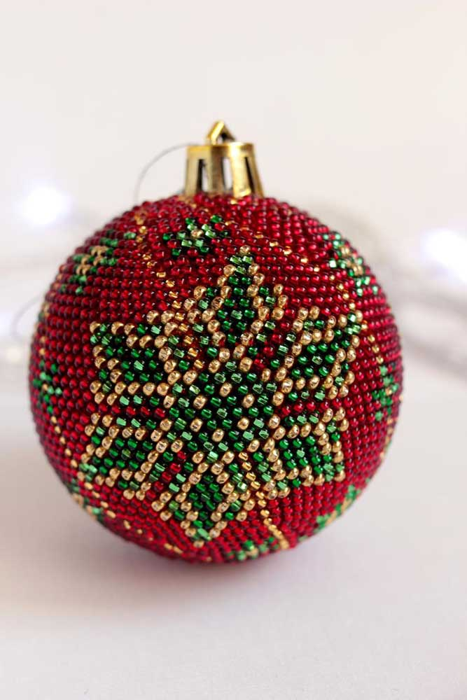 17. Use and abuse your creativity when making Christmas balls.
