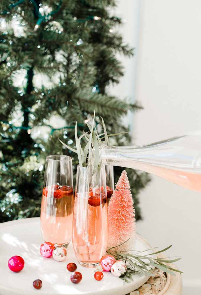 18. The drink to match the Christmas ornaments