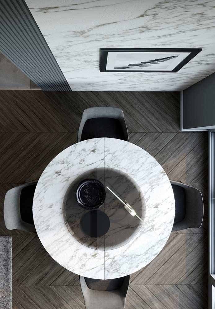 19. Carrara gioia for the dining table top.