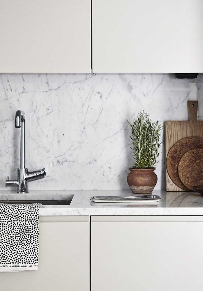 20. Carrara gioia marble wall cladding.