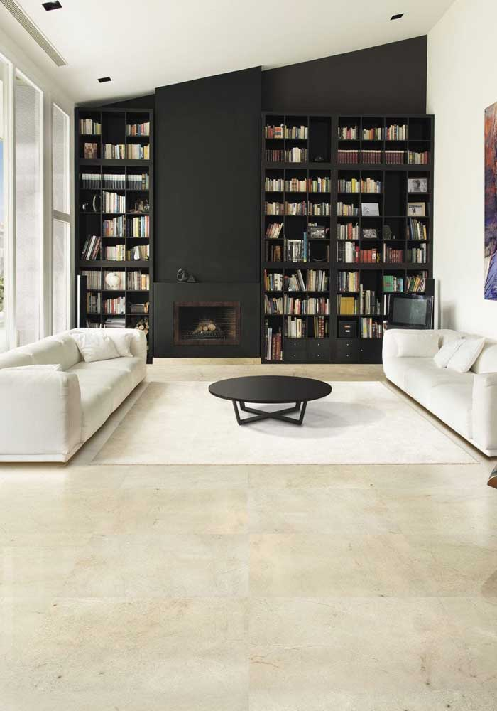 29. Clean and elegant look with cremma marble.