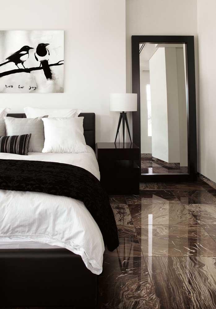 31. Imperial brown marble for bedroom floor.