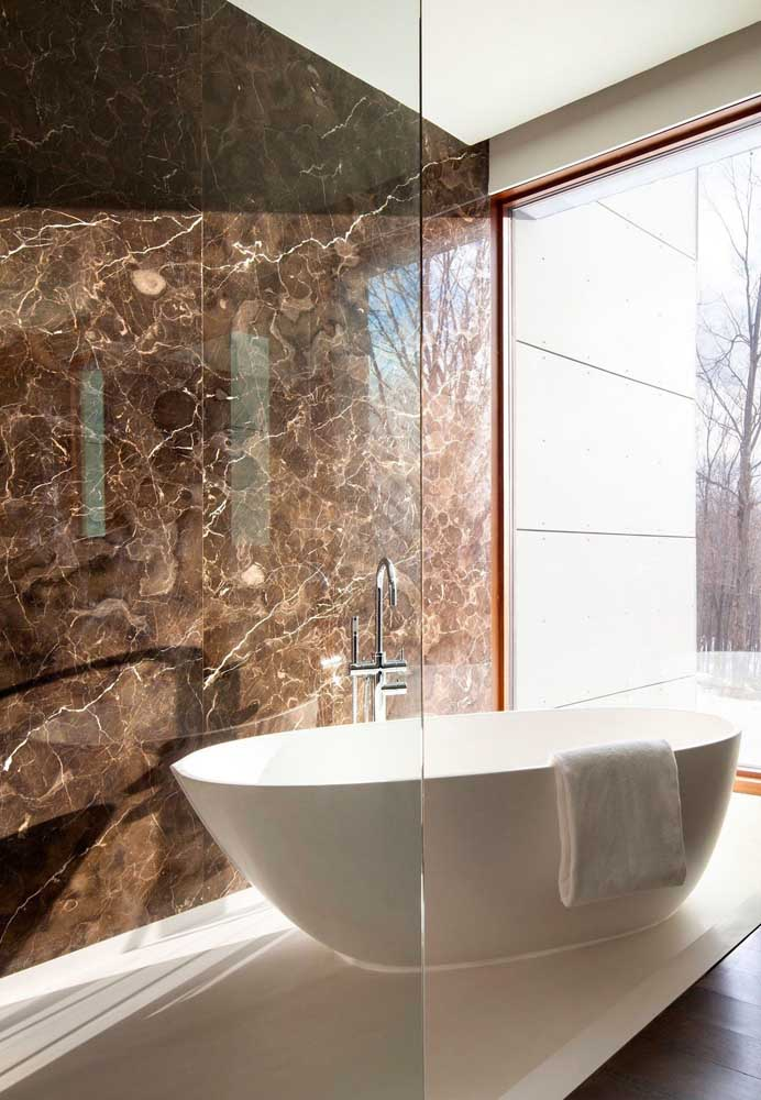 32. Imperial brown for the luxury bathroom.
