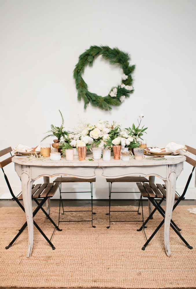 37. Make a dinner with rustic decor