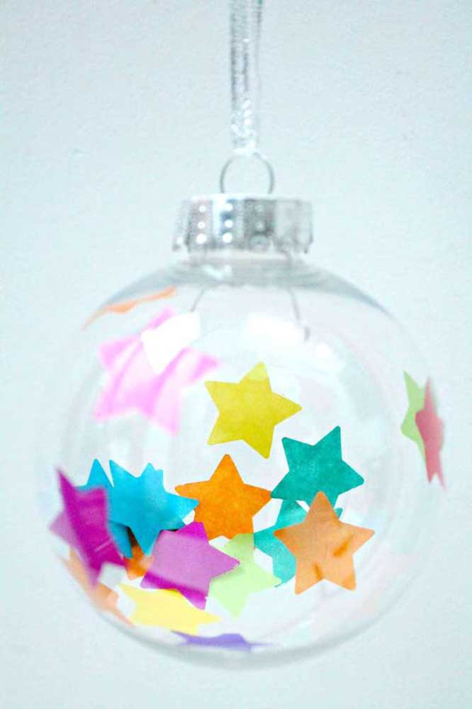 39. Or simply add sparkly stars to highlight the balls.