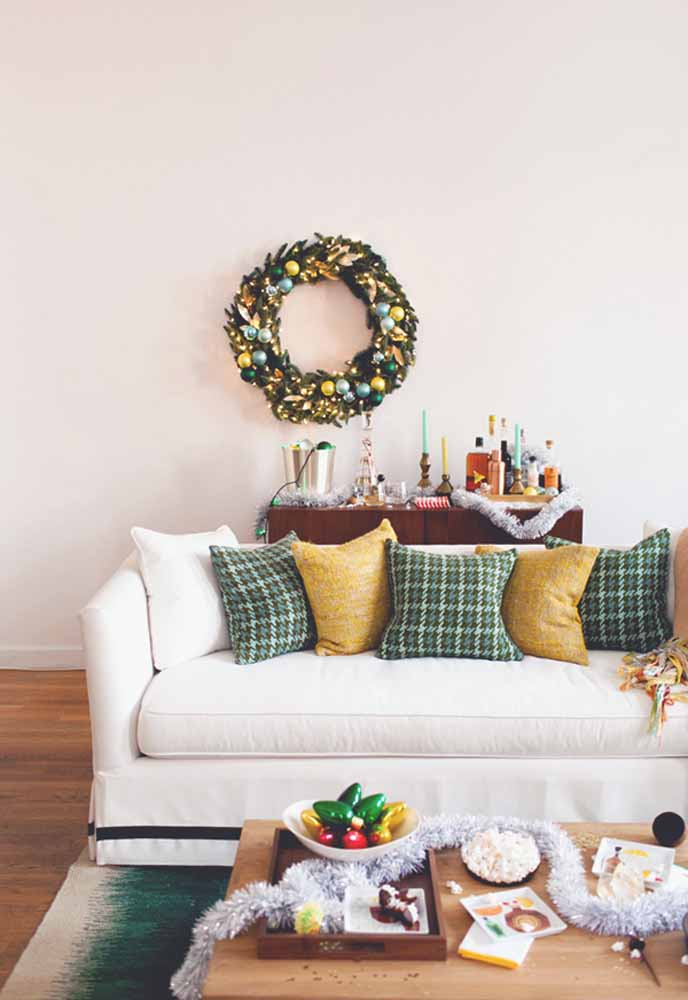 41. The wreath adds a special touch to your decor