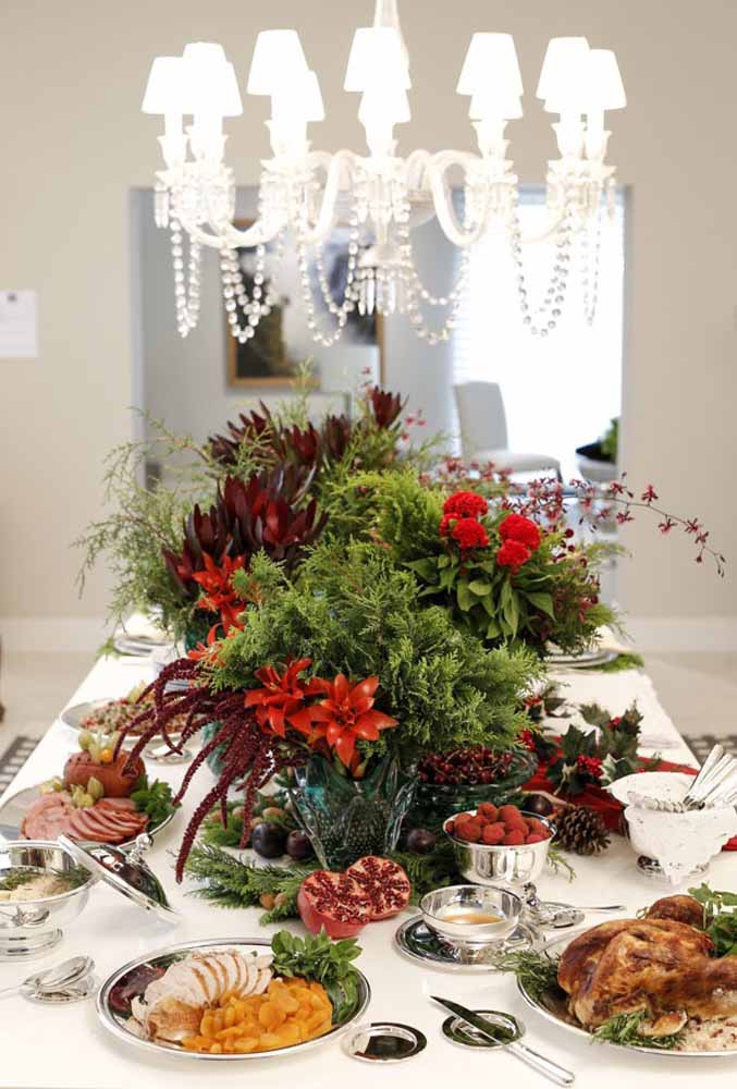 49. If the table is large, the arrangements must match the size