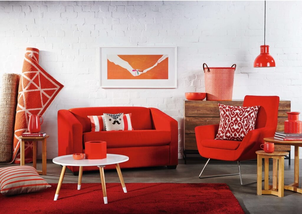 1. Bold Red