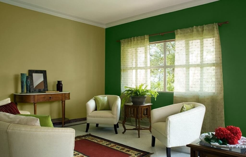 Importance Of Green Walls In Interiors