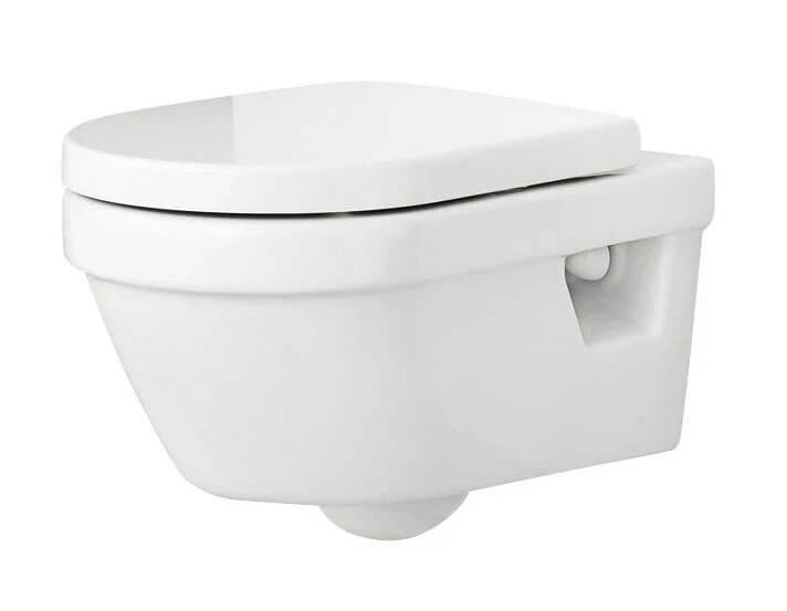 17. Solution for a typical toilet