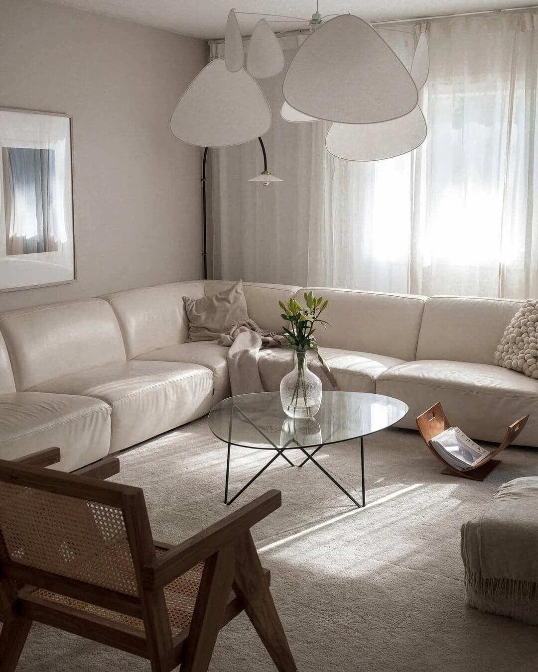 2. Stylish space with natural motives