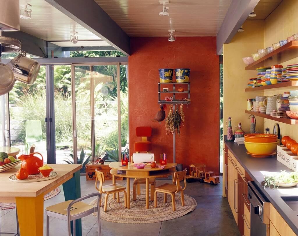 4. Orange Kitchen