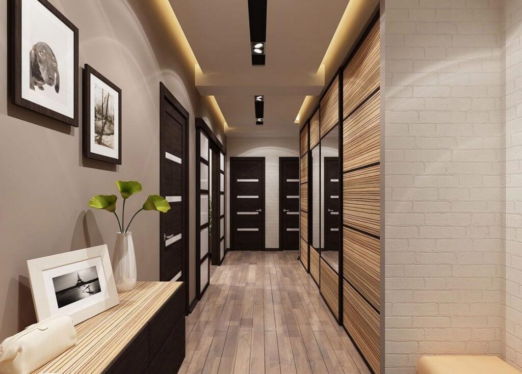 4. Narrow hallway