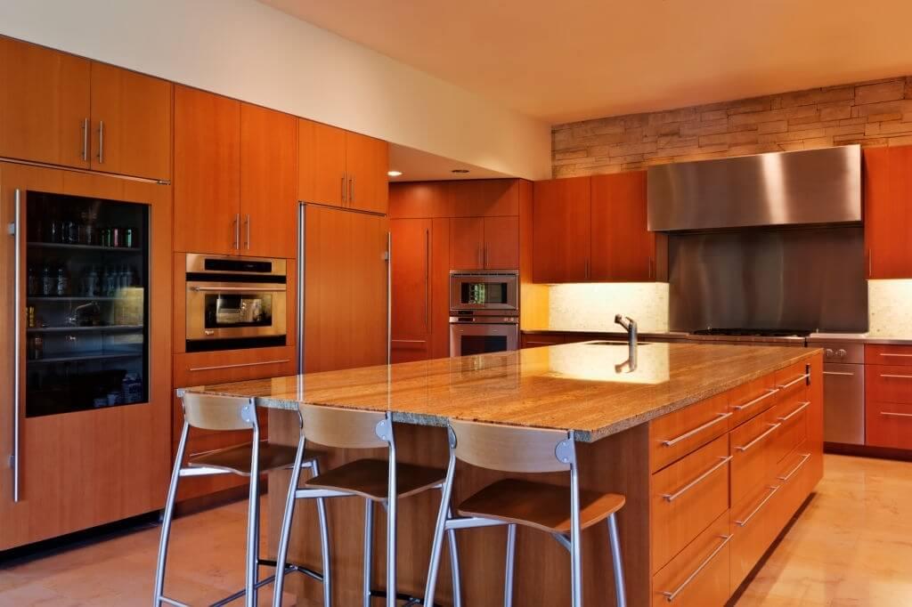 1. Orange Kitchen