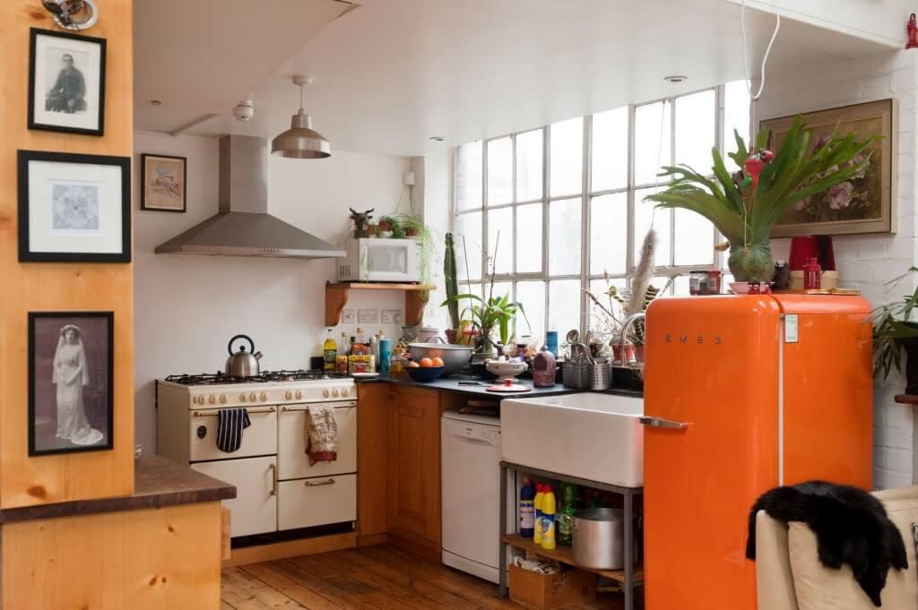 3. Orange Kitchen