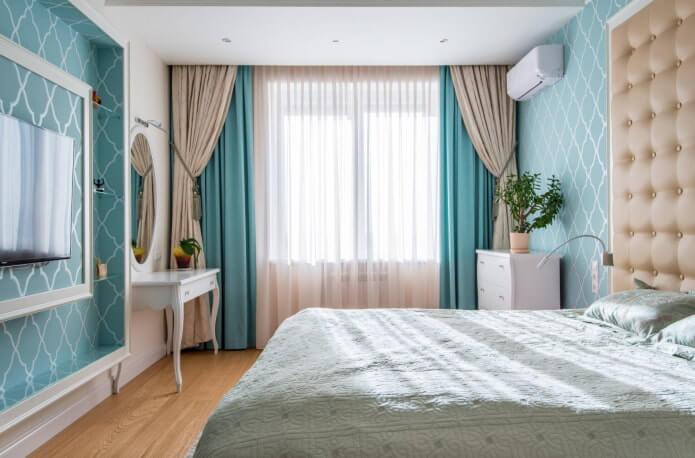 7. For blue wallpaper