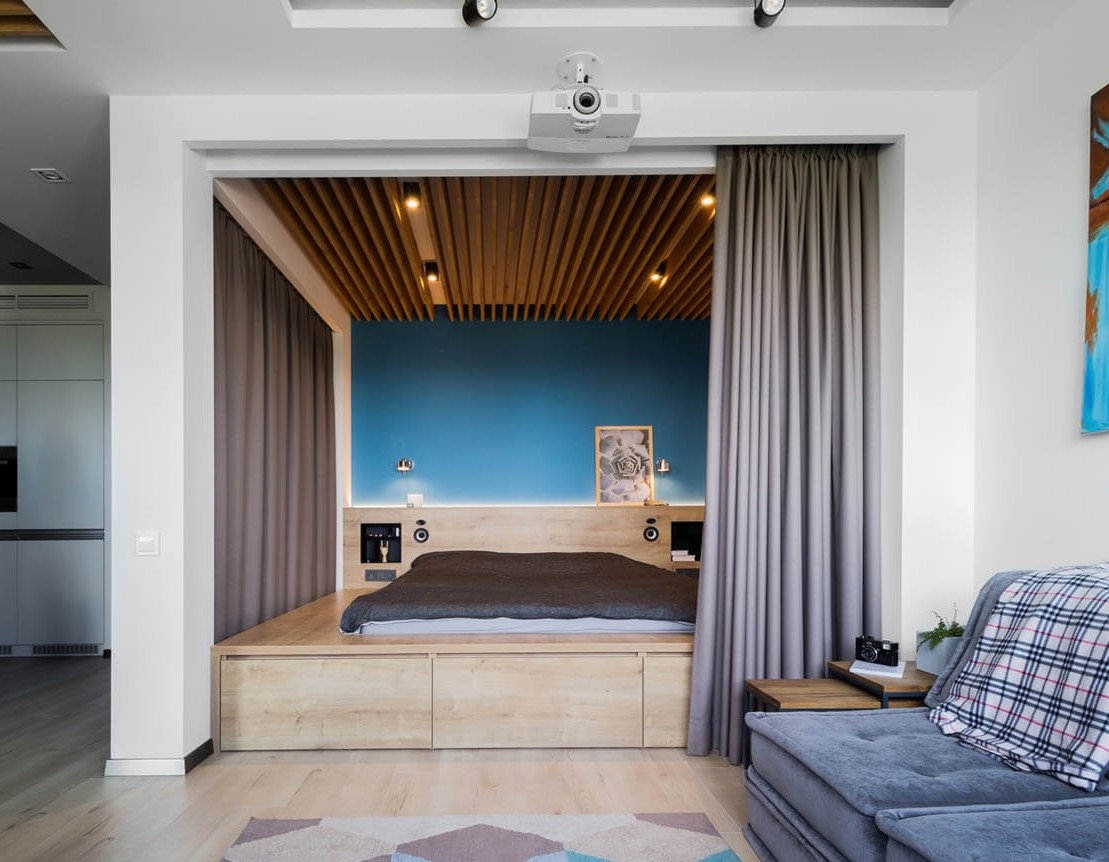 Photos of such rooms clearly show how such a room will look.